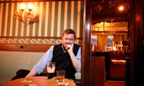 Guy Garvey, lead singer of Elbow, in the Briton's Protection