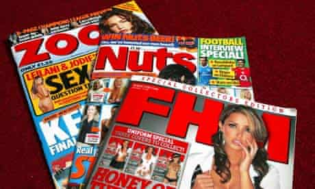FHM, Nuts and Zoo: what are their attitudes to women?