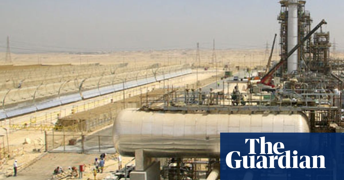 Could the desert sun power the world? | Environment | The Guardian