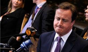 David Cameron, EU summit, Brussels