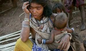 Vedanta, tribal woman in Niyamgiri Hills in Orissa