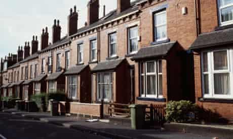 Victorian houses in Leeds