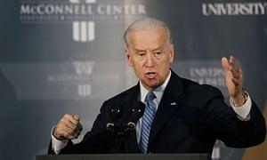 Joe Biden hailed Mubarak's departure, two weeks after defending him.