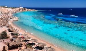 Red Sea resort of Sharm el-Sheikh