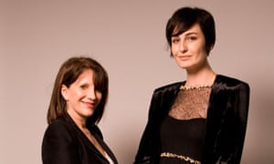 Erin O'Connor and Lynne Featherstone at the All Walks Beyond the Catwalk debate in London.