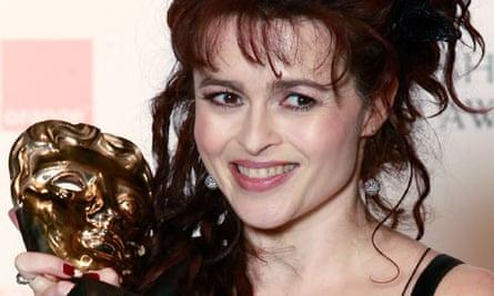 Helena Bonham Carter at the BAFTA awards ceremony