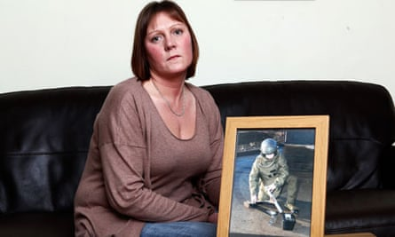 Toni O'Donnell's husband was killed in Afghanistan