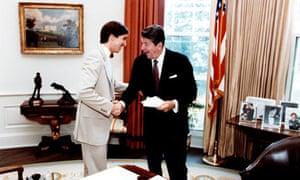 Ron and Ronald Reagan
