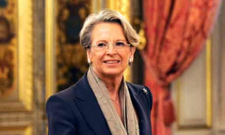 French foreign minister Michèle Alliot-Marie