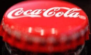 A Coca-Cola bottle