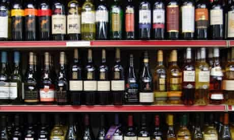 Alcohol health warning labels