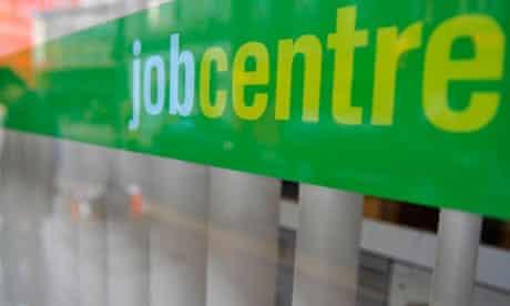 A job centre in London