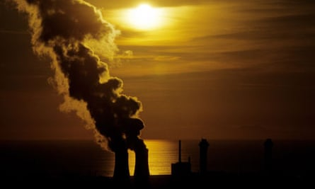 Sellafield nuclear power station in Cumbria, England