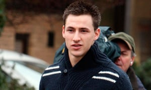 Robert Fitzgerald punched footballer