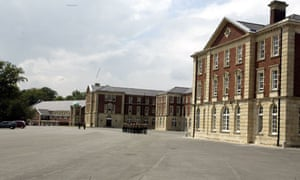 The Royal Military Academy in Sandhurst