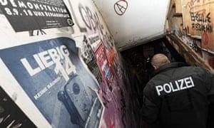 Berlin police enter Liebig 14 squat