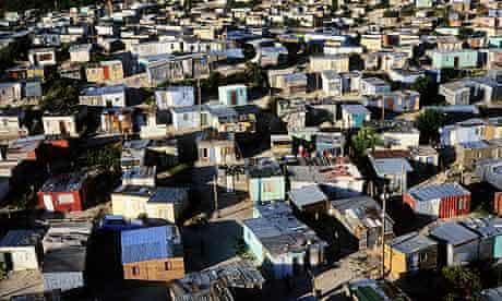 Khayelitsha Township in Cape Town