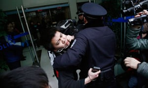 china protest arrests
