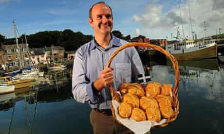 Protected status for Cornish pasty