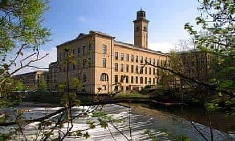 Salt's Mill in Saltaire, which has been declared a Unesco world heritage site.