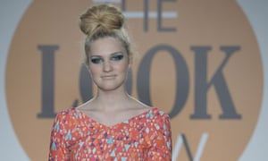 Lyndsey O'Hagan, the 19-year-old winner of Look magazine's search for a curvy supermodel.