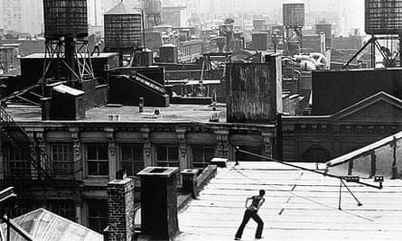 Roof Piece by Trisha Brown, 1973.