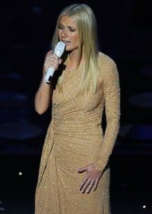 Gwyneth Paltrow performs Coming Home from the motion picture Country Strong at the Oscars