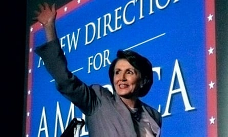 U.S. House Minority leader Pelosi arrives at an election night party in Washington