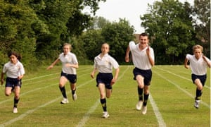 Secondary school sports event. Image shot 2009. Exact date unknown.