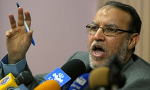 Egypt's Muslim Brotherhood representative Essam el-Erian