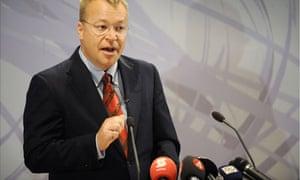 Nokia's new chief executive Stephen Elop