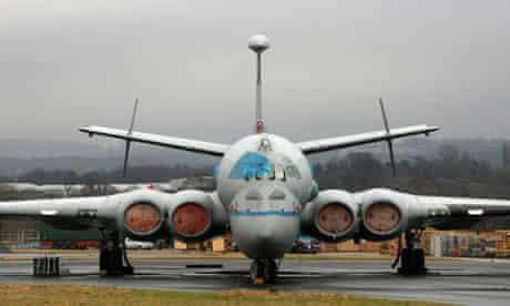 RAF Nimrod plane