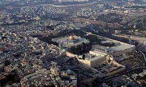 Aerial Views Of Jerusalem