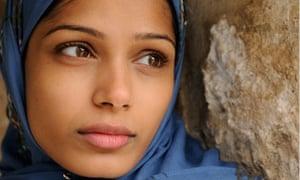Film still from Miral (2010)