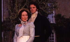 Colin Firth and Jennifer Ehle in Jane Austen's Pride and Prejudice