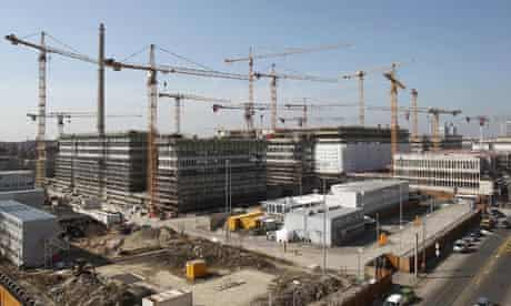 Topping-Out Ceremony Held For New German Intelligence Service Building