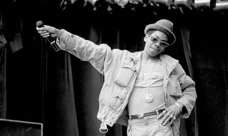 Smiley Culture performing at Reggae Sunsplash in London in 1985