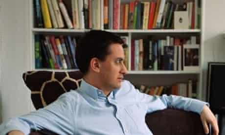 Ed Miliband at his north London home.