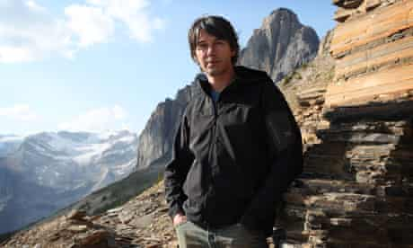 Professor Brian Cox in BBC2's Wonders of the Universe