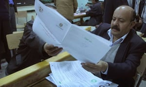 Egypt voting new constitution