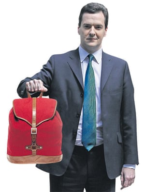 Osborne with backpack