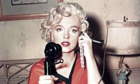 Marilyn Monroe on the phone