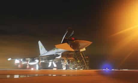 Libya conflict: RAF Typhoon aircraft
