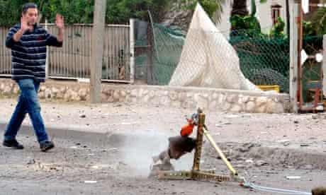 Gaza militant rocket