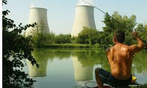 nuclear station Nogent-sur-Seine, outside Paris, France