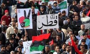 Libyans gather in Benghazi