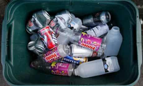A recycling box
