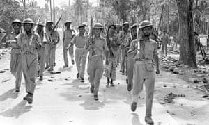 Bangladesh troops in April 1971