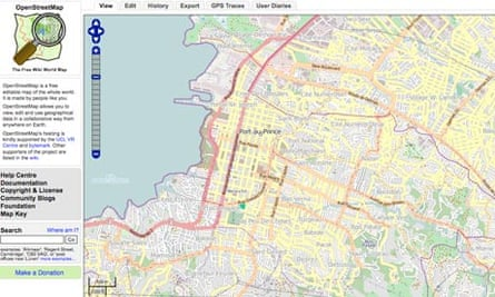 A crowdsourced map of Haiti