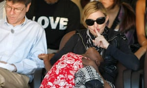 Madonna and Mercy James